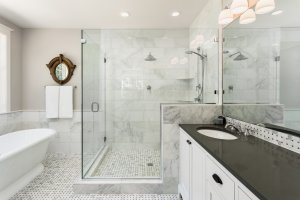 Luxury Bathrom - Quality Frameless Shower Doors