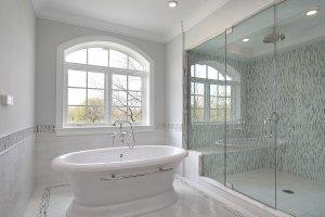 Master Bath - Quality Frameless Shower Doors