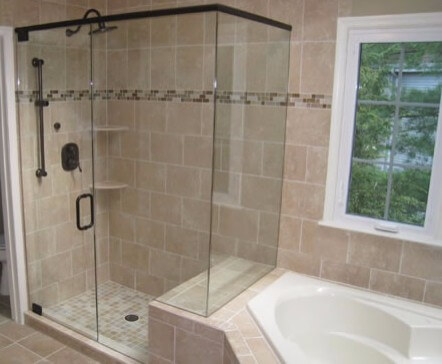 Small Shower - Quality California Frameless Shower Doors